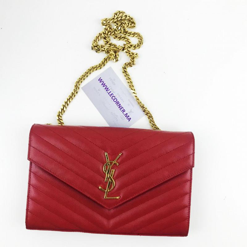 f75a313d0867 YSL rouge - Le Corner dépôt vente de luxe